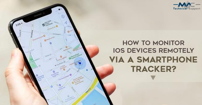 How to Monitor iOS Devices Remotely Via a Smartphone Tracker?